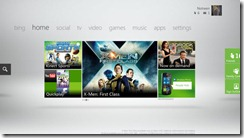 Xbox360 new dashboard for 2012